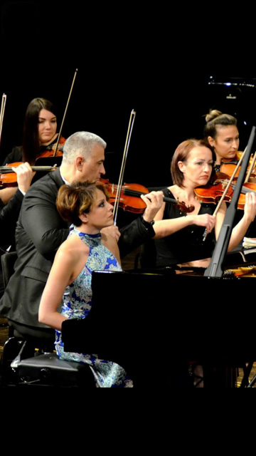 With Antalya State Symphony Orchestra