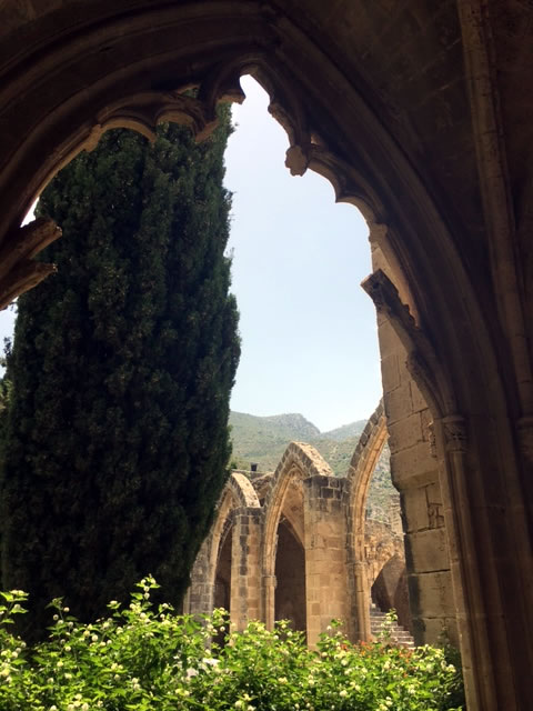 A Piece From Heaven Bellapais Abbey