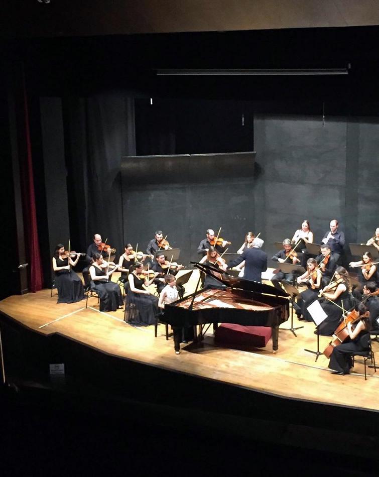 With KODA Chamber Orchestra İzmir