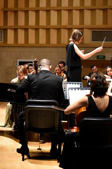 METU  Northern Cyprus - Northern Cyprus Presidencial Symphony Orchestra - Conductor: Chloe Van Soeterstede