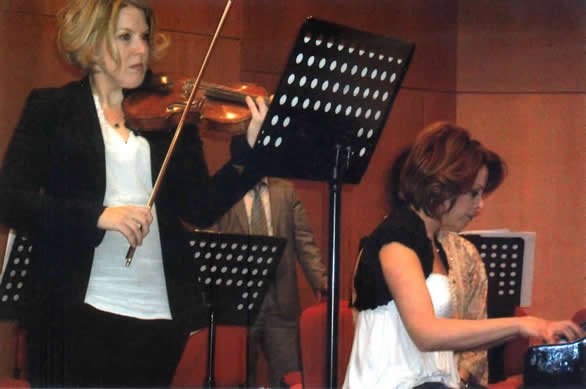 Linda Hedlund National Reasuarance Hall Istanbul