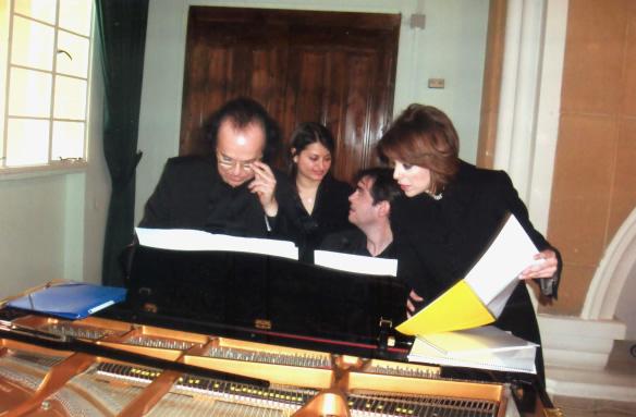 APAP Artists Cyprien Katsaris, George Lazaridis Ledra Palace Green Lıne - Cyprus
