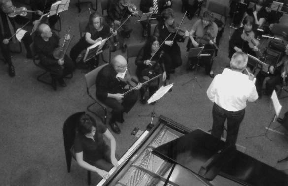 Emeritus Chamber Orchestra's Rehearsal Conductor Yılmaz Taner Tel Avıv - Israel