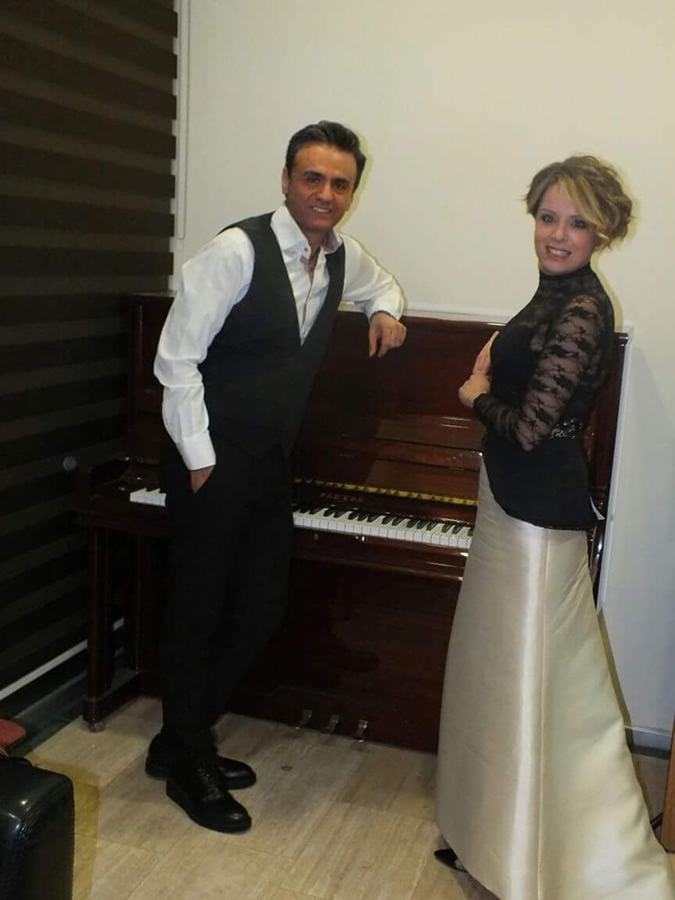 Back Stage With Percussionist Dincer Ozer Adana