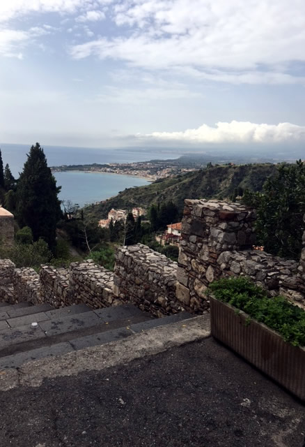 From One Island To The Other. Taormina, Pearl Of Sicilia.